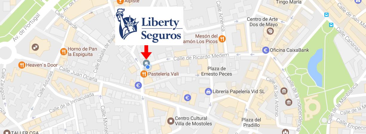 Oficina liberty seguros en m stoles for Oficina liberty seguros